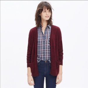 "Madewell ""Landscape"" Cardigan Sweater Size M"